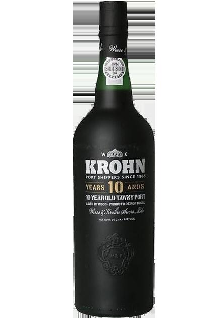 Krohn 10 años (houten kist)