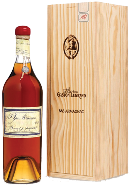 Bas-Armagnac Baston Legrand 1986