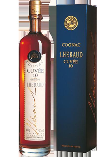 Cognac Lheraud Cuvée 10 ans d'age (XO)